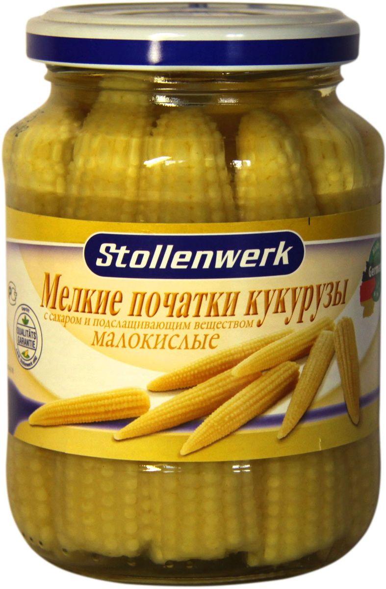 Stollenwerk мелкие початки кукурузы малокислые, 370 мл