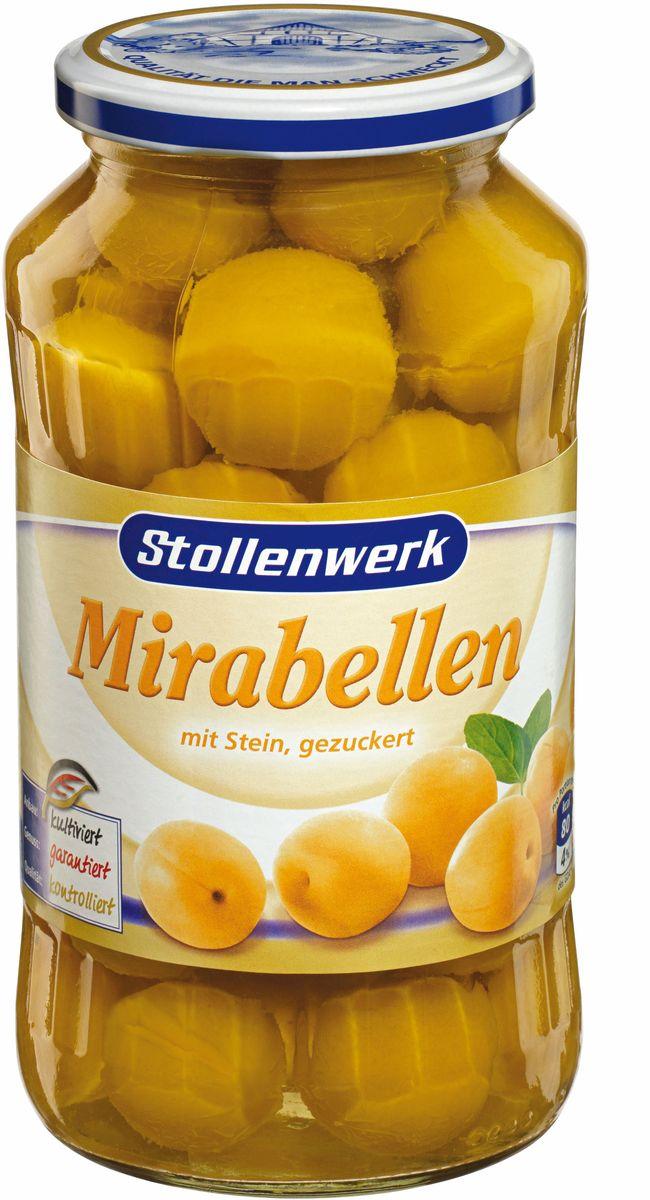 Stollenwerk желтая слива Мирабель с косточкой с сахаром, 720 мл84160Фрукты Stollenwerk содержат только натуральные фрукты, сахар; без добавления консервантов.