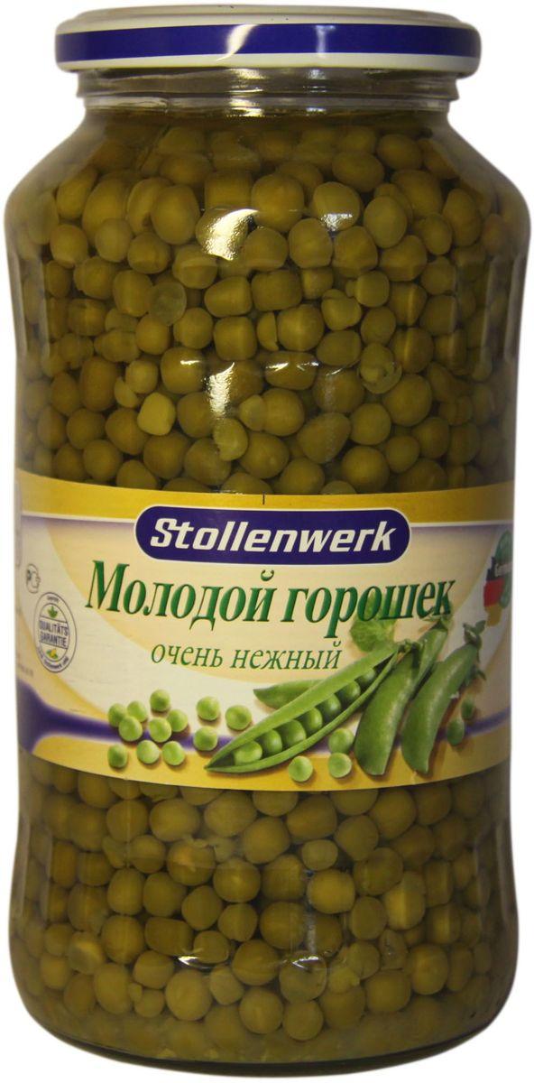 Stollenwerk горошек молодой деликатесный очень нежный, 720 мл