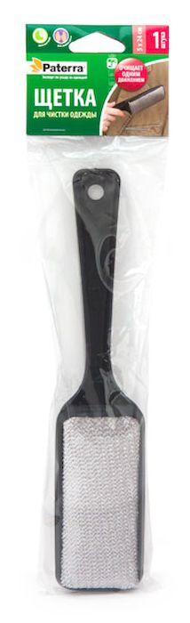 Щетка для чистки одежды Paterra, 5 х 24 см402-544Щетка Paterra, выполненная из пластика и полиэстера, предназначена для очищения ткани одежды от ворсинок, волос, пыли и шерсти животных. Может использоваться для мягкой мебели и салона автомобиля. Благодаря эргономичной ручке, щетку удобно держать в руке. Кнопка на корпусе ручки позволяет изменять направление ворса на ручке, для этого необходимо нажать кнопку и провернуть часть щетки с ворсом на 180 градусов. Размер щетки: 5 х 24 см.