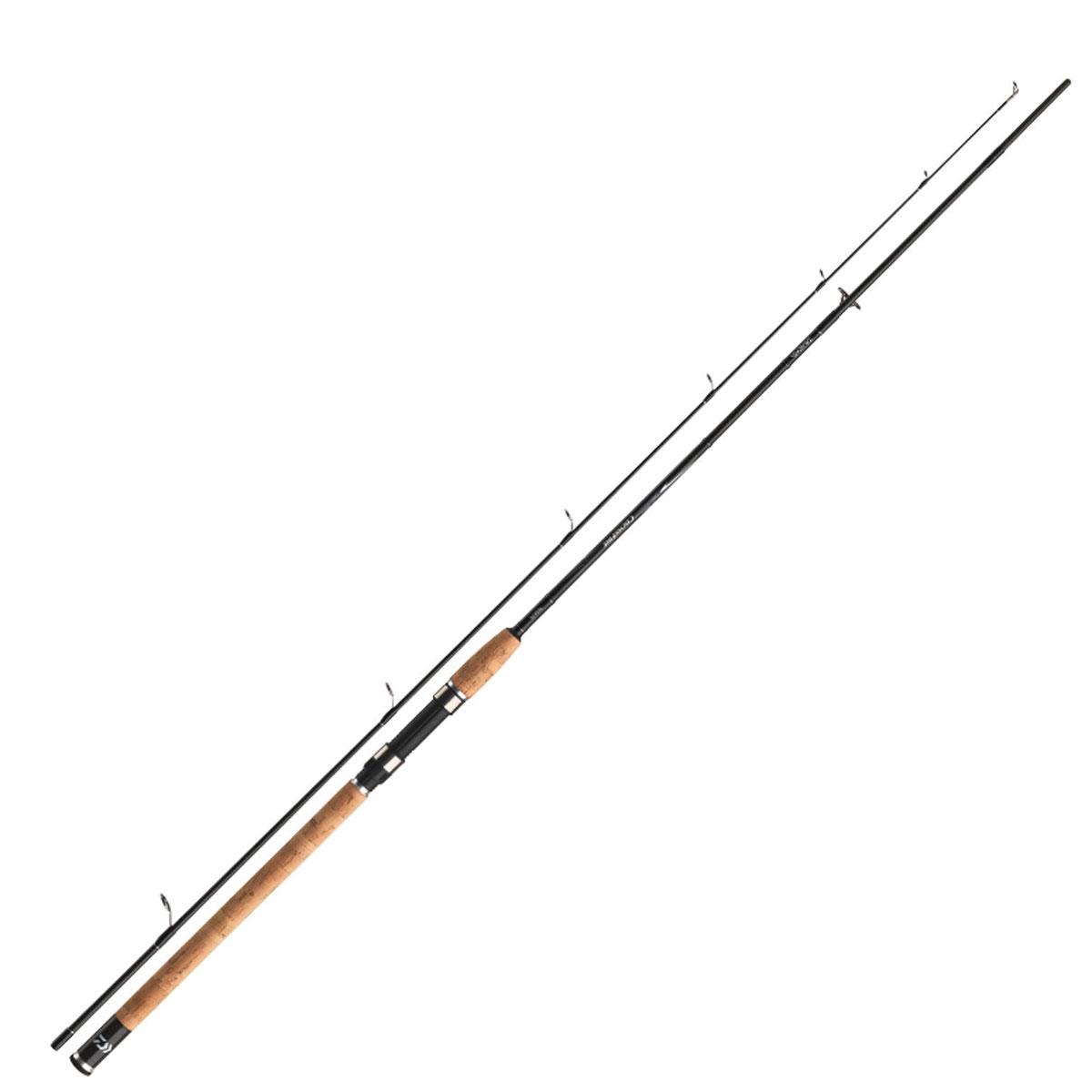 Спиннинг штекерный Daiwa Crossfire CF802MFS-AD 2,40м (15-40г)54163Серия Crossfire убедительна во всех своих характеристиках. Широкая линейка продукции с различными тестами и длиной дает возможность выбрать спиннинг для любых техник ловли. Crossfire идеально сбалансирован и, благодаря своему жесткому строю (начиная от теста 40г), прекрасно подходит для ловли на мягкие приманки. Спиннинги с тестом менее 40г не такие жесткие, поэтому хорошо подходят для ловли на блесны и т.д. Бланки премиум качества из плетеного графитового волокна демонстрируют великолепное соотношение цены и качества. Проверьте сами! Оснащены кольцами из оксида титана, пробковой рукояткой, чувствительным бланком из графитового волокна. Поставляется в транспортировочном тубусе.