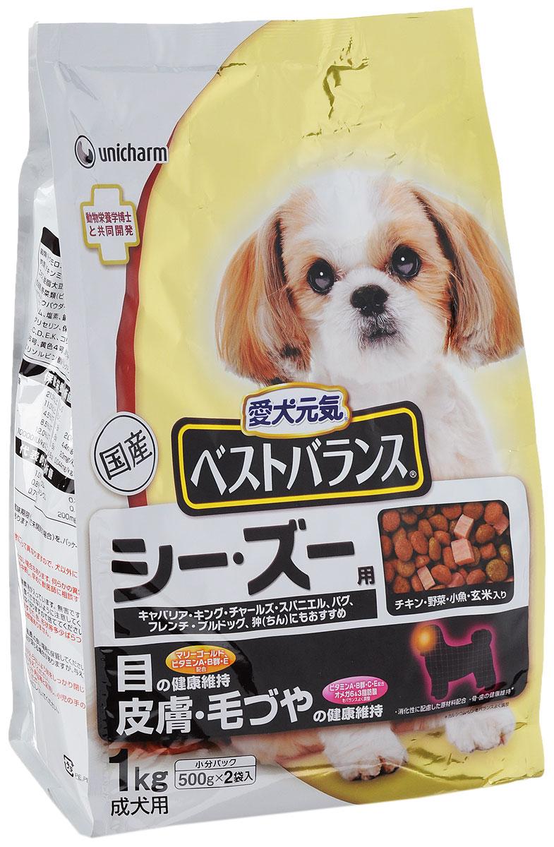 """Корм сухой Unicharm """"The Best Balance"""" для собак породы ши-тцу, кавалер кинг чарльз спаниель, мопс, французский бульдог, пекинес, 1"""