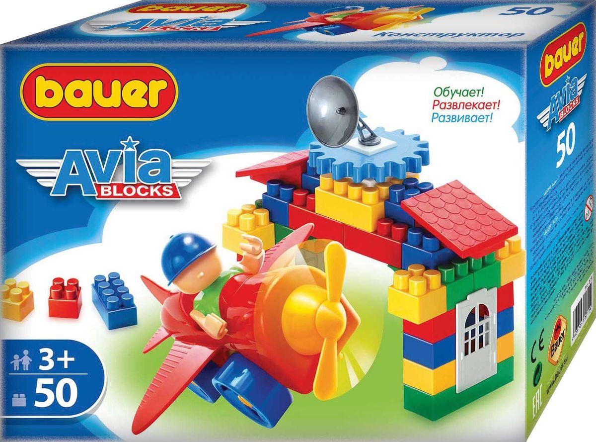 Bauer Конструктор Avia кр319кр319Конструктор Bauer серии Avia содержит 50 элементов. Конструктор предназначен для детей от 3-х лет.