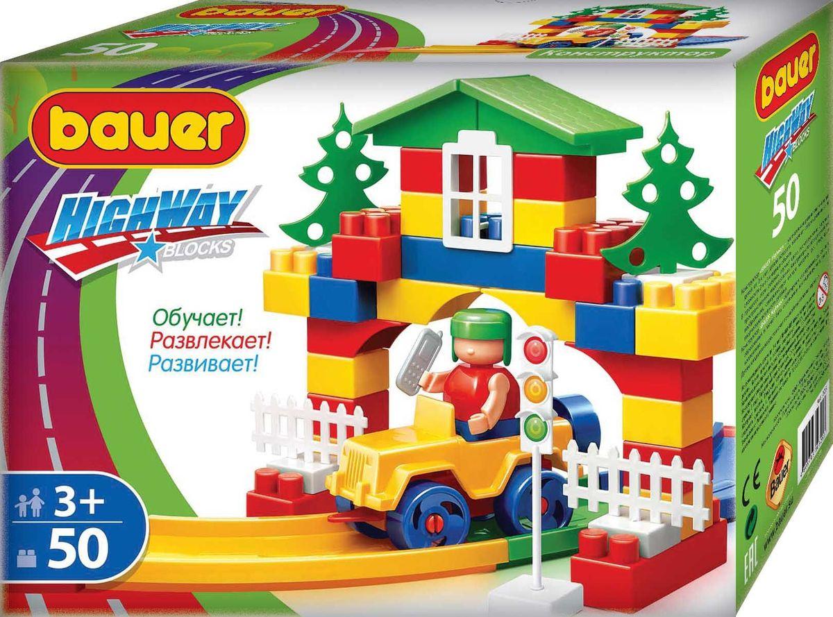 Bauer Конструктор Автодорога кр325