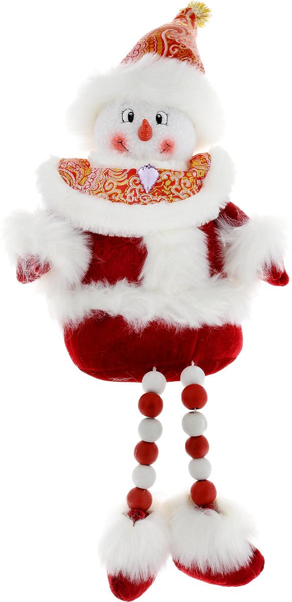 Фигурка декоративная House & Holder Дед Мороз, высота 25 см140-88822ABCФигурка декоративная House & Holder Дед Мороз, выполненная из текстиля, пластика, дерева и искусственного меха, станет оригинальным подарком для всех любителей необычных вещей. Изысканный сувенир станет прекрасным дополнением к интерьеру. Вы можете поставить фигурку в любом месте, где она будет удачно смотреться и радовать глаз. Размер: 23 х 16 х 25 см.
