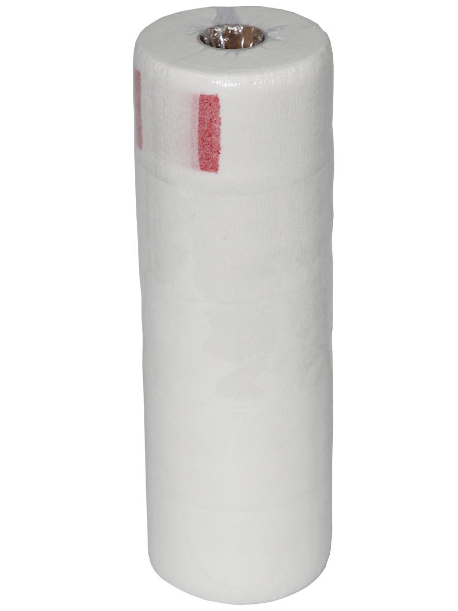 Воротничок на липучке бумажный в рулоне, 5 шт./уп.01-331Бумажные перфорированные воротнички одноразового применения для проведения парикмахерских процедур. Надежно крепятся на «липучке» под пеньюаром. Описание: Материал: бумага, с перфорацией Тип упаковки: 5 рулонов по 100 м Цвет: белый Ширина: 7 см