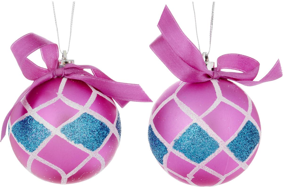 Украшение новогоднее подвесное House & Holder, диамтер 6 см, 2 штDP-C30-003Набор новогодних подвесных украшений House & Holder выполнен из пластмассы. С помощью специальной петельки украшения можно повесить в любом понравившемся вам месте. Но, конечно, удачнее всего оно будет смотреться на праздничной елке. Елочная игрушка - символ Нового года. Она несет в себе волшебство и красоту праздника. Создайте в своем доме атмосферу веселья и радости, украшая новогоднюю елку нарядными игрушками, которые будут из года в год накапливать теплоту воспоминаний. Диаметр: 6 см. Комплектация: 2 шт.