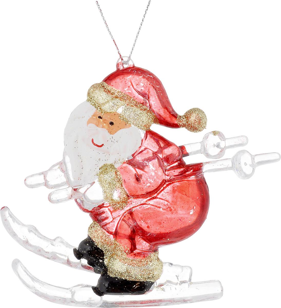 Украшение новогоднее подвесное House & Holder Дед Мороз, высота 9 смDP-C30-14146Новогоднее подвесное украшение House & Holder Дед Мороз выполнено из пластмассы. С помощью специальной петельки украшение можно повесить в любом понравившемся вам месте. Но, конечно, удачнее всего оно будет смотреться на праздничной елке. Елочная игрушка - символ Нового года. Она несет в себе волшебство и красоту праздника. Создайте в своем доме атмосферу веселья и радости, украшая новогоднюю елку нарядными игрушками, которые будут из года в год накапливать теплоту воспоминаний. Размер: 10 х 1 х 9 см.