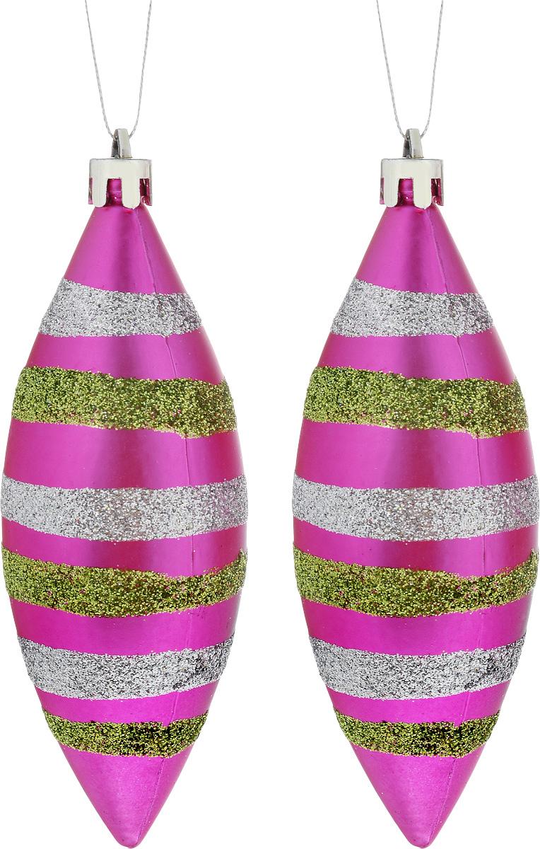 Украшение новогоднее подвесное House & Holder Сосульки, 2 штDP-C30-002Набор новогодних подвесных украшений House & Holder Сосульки выполнен из пластмассы. С помощью специальной петельки украшения можно повесить в любом понравившемся вам месте. Но, конечно, удачнее всего оно будет смотреться на праздничной елке. Елочная игрушка - символ Нового года. Она несет в себе волшебство и красоту праздника. Создайте в своем доме атмосферу веселья и радости, украшая новогоднюю елку нарядными игрушками, которые будут из года в год накапливать теплоту воспоминаний. Размер: 4 х 4 х 15 см. Комплектация: 2 шт.