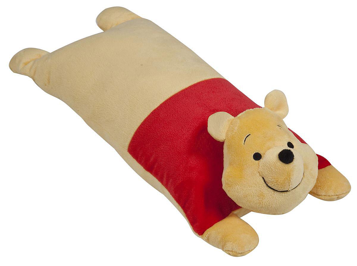 Disney Подушка детская Винни Пух15547Детская декоративная подушка Винни Пухможет использоваться в качестве элемента декора в вашем доме, ну и кроме того, быть настоящей игрушкой для вашего малыша. Данная текстильная продукция занимает высокие позиции на потребительском рынке благодаря своим оригинальным дизайнам и безопасным материалам.