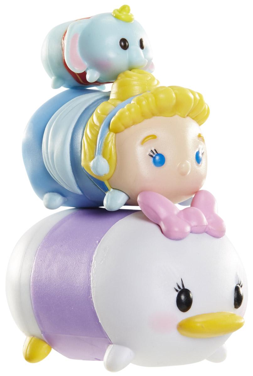 Tsum Tsum Набор фигурок Дамбо Золушка Дейзи980080_122-129-118Tsum Tsum - это небольшие коллекционные фигурки, изображающие различных персонажей детских мультфильмов Дисней. Они очень яркие, качественно сделаны и выглядят весьма привлекательно. В набор входят 3 фигурки разных размеров. Отличительной особенностью игрушек является то, что их можно сцеплять друг с другом, усаживая на спины - таким образом, у вас получится подобие оригинальной башенки. Соберите целую коллекцию фигурок! В наборе фигурки под номерами 122, 129, 118.