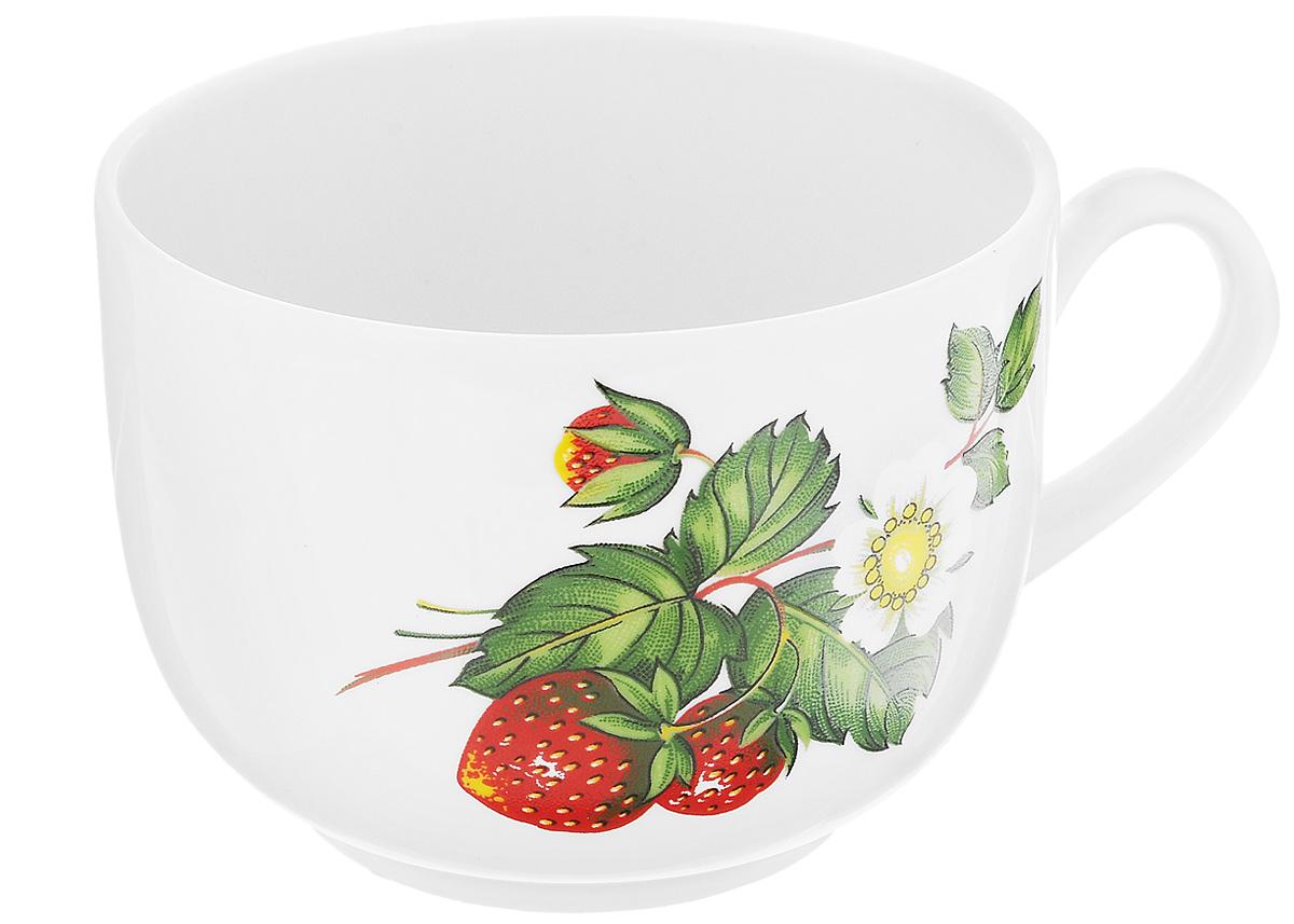 Чашка чайная Фарфор Вербилок Август. Цветущая земляника, 300 мл. 747149747149Чайная чашка Фарфор Вербилок Август. Цветущая земляника способна скрасить любое чаепитие. Изделие выполнено из высококачественного фарфора. Посуда из такого материала позволяет сохранить истинный вкус напитка, а также помогает ему дольше оставаться теплым. Диаметр по верхнему краю: 8,5 см. Высота чашки: 6,5 см.