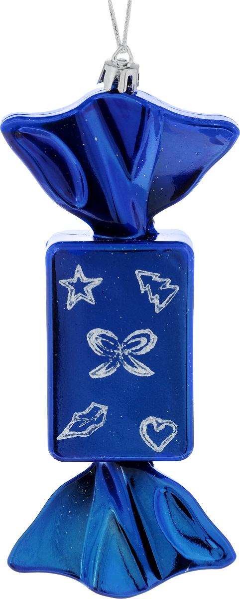 Украшение новогоднее подвесное House & Holder Конфета, 7 х 4 х 17 смDP-C30-072Новогоднее подвесное украшение House & Holder Конфета выполнено из пластмассы. С помощью специальной петельки украшение можно повесить в любом понравившемся вам месте. Но, конечно, удачнее всего оно будет смотреться на праздничной елке. Елочная игрушка - символ Нового года. Она несет в себе волшебство и красоту праздника. Создайте в своем доме атмосферу веселья и радости, украшая новогоднюю елку нарядными игрушками, которые будут из года в год накапливать теплоту воспоминаний. Размер: 7 х 4 х 17 см.