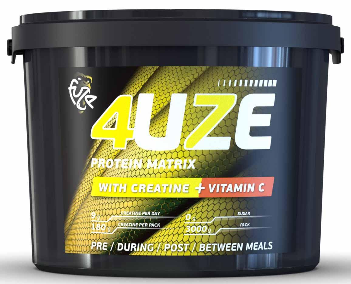 Протеин 4UZE + Сreatine, шоколад-карамель, 3000 г