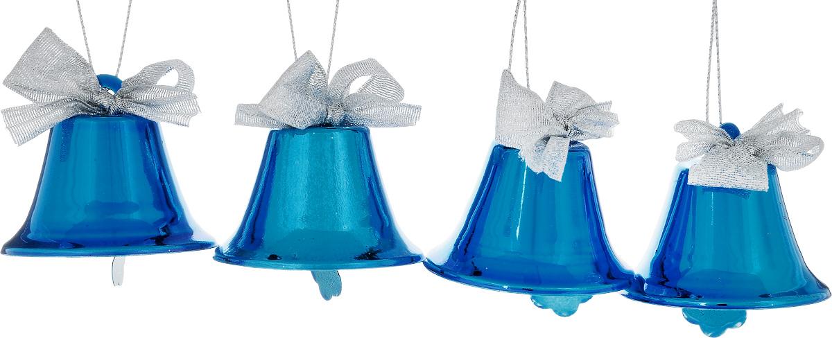 Набор новогодних подвесных украшений House & Holder Колокольчики, 4 штDP-C30-049Набор подвесных украшений House & Holder Колокольчики прекрасно подойдет для праздничного декора новогодней ели. Набор состоит из 4 металлических украшений в виде колокольчиков. Для удобного размещения на елке для каждого украшения предусмотрено петелька. Елочная игрушка - символ Нового года. Она несет в себе волшебство и красоту праздника. Создайте в своем доме атмосферу веселья и радости, украшая новогоднюю елку нарядными игрушками, которые будут из года в год накапливать теплоту воспоминаний. Откройте для себя удивительный мир сказок и грез. Почувствуйте волшебные минуты ожидания праздника, создайте новогоднее настроение вашим дорогим и близким. Размер: 5,5 х 5,5 х 5 см.