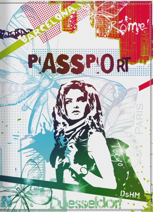 Обложка для паспорта женская КвикДекор Жизнь в красках, цвет: мультиколор. DC-15-0002-1DC-15-0002-1Оригинальная, яркая и качественная обложка для паспорта КвикДекор Жизнь в красках изготовлена из качественной экокожи. Подходит для всех видов паспортов, как общегражданских, так и заграничных. Изображение устойчиво к стиранию. Изделие раскладывается пополам. Яркий современный дизайн, который является основной фишкой данной модели, будет радовать глаз.