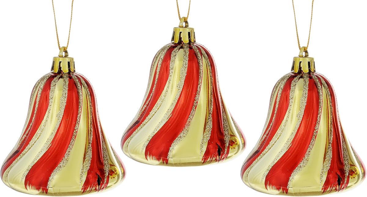 Набор новогодних подвесных украшений House & Holder Колокольчики, 3 штDP-C30-032Набор подвесных украшений House & Holder Колокольчики прекрасно подойдет для праздничного декора новогодней ели. Набор состоит из 3 пластиковых украшений в виде колокольчиков. Для удобного размещения на елке для каждого украшения предусмотрено петелька. Елочная игрушка - символ Нового года. Она несет в себе волшебство и красоту праздника. Создайте в своем доме атмосферу веселья и радости, украшая новогоднюю елку нарядными игрушками, которые будут из года в год накапливать теплоту воспоминаний. Откройте для себя удивительный мир сказок и грез. Почувствуйте волшебные минуты ожидания праздника, создайте новогоднее настроение вашим дорогим и близким. Размер: 6 х 6 х 7 см.