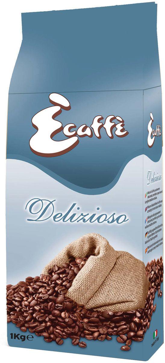 Caffitaly Ecaffe Delizioso кофе в зернах, 1 кг (с клапаном дегазации)8032680750458Эспрессо со сладким и изысканным вкусом из тщательно отобранной 100% Арабики. С низким содержанием кофеина – этот кофе для истинных ценителей удовольствия. Кофе упакован в пакеты с клапаном дегазации, что обеспечивает сохранность вкусовых и ароматических свойств зерен в течение всего срока годности. Состав: 100% Арабика. Кислотность: 6,8/10. Крепость: 7/10. Регион: Бразилия, Эфиопия, Гватемала, Колумбия.
