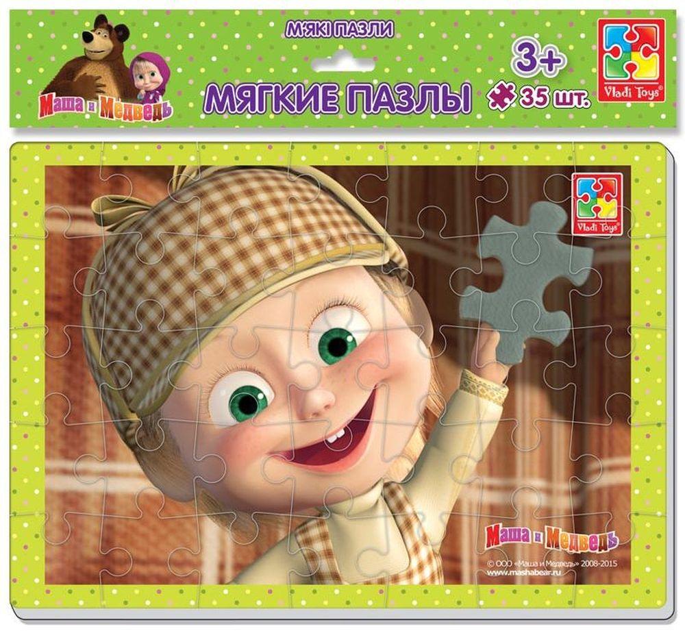 Vladi Toys Пазл для малышей Маша Шерлок ХолмсVT1102-07