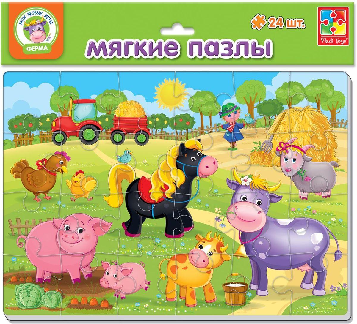 Vladi Toys Пазл для малышей Ферма VT1102-14VT1102-14