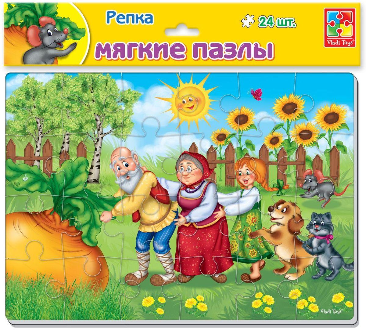 Vladi Toys Пазл для малышей Репка VT1102-16VT1102-16