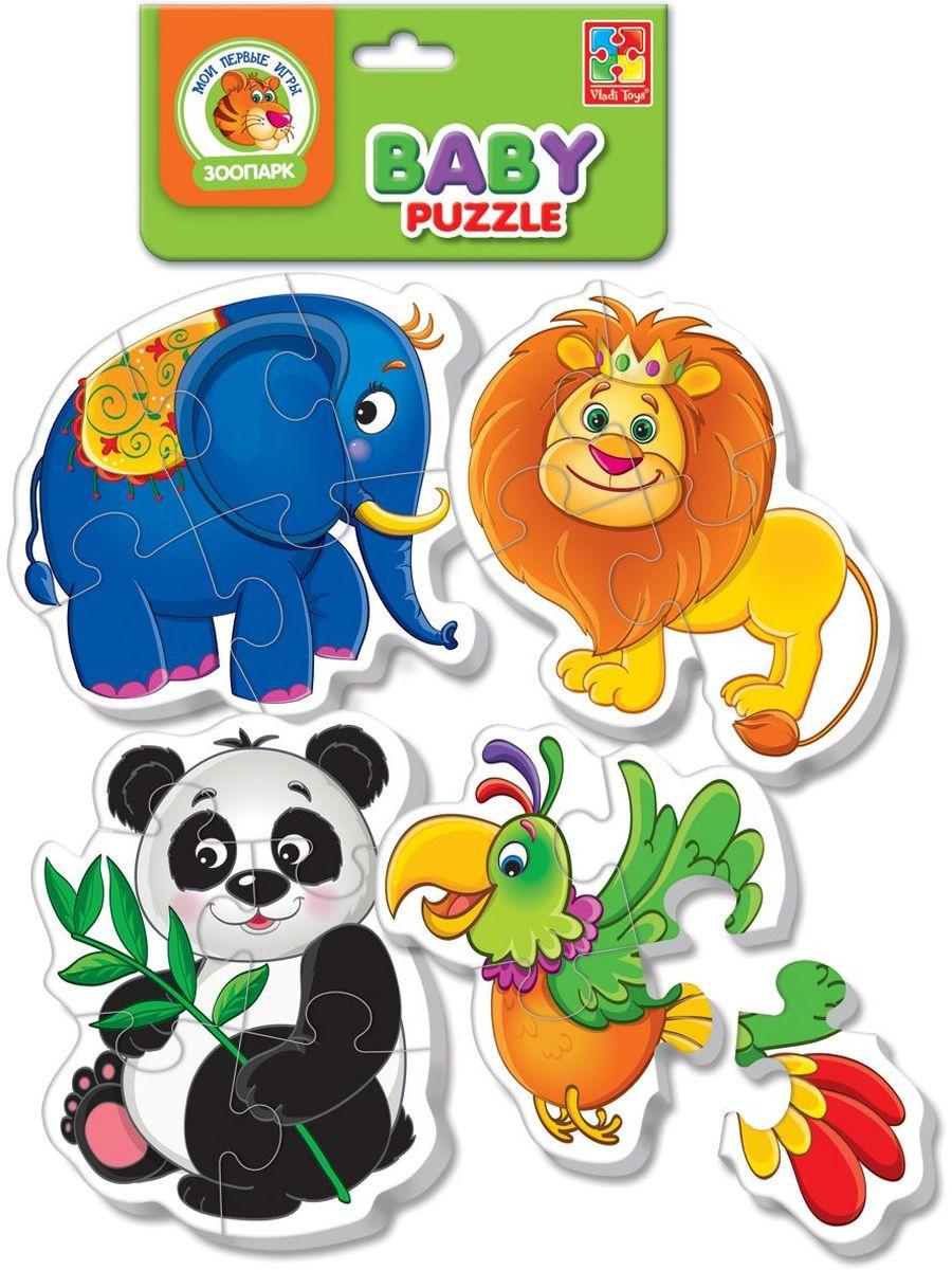 Vladi Toys Пазл для малышей Зоопарк VT1106-50VT1106-50