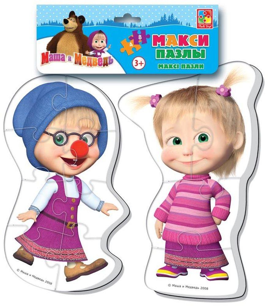Vladi Toys Пазл для малышей Maxi Маша и медведь VT1108-03VT1108-03