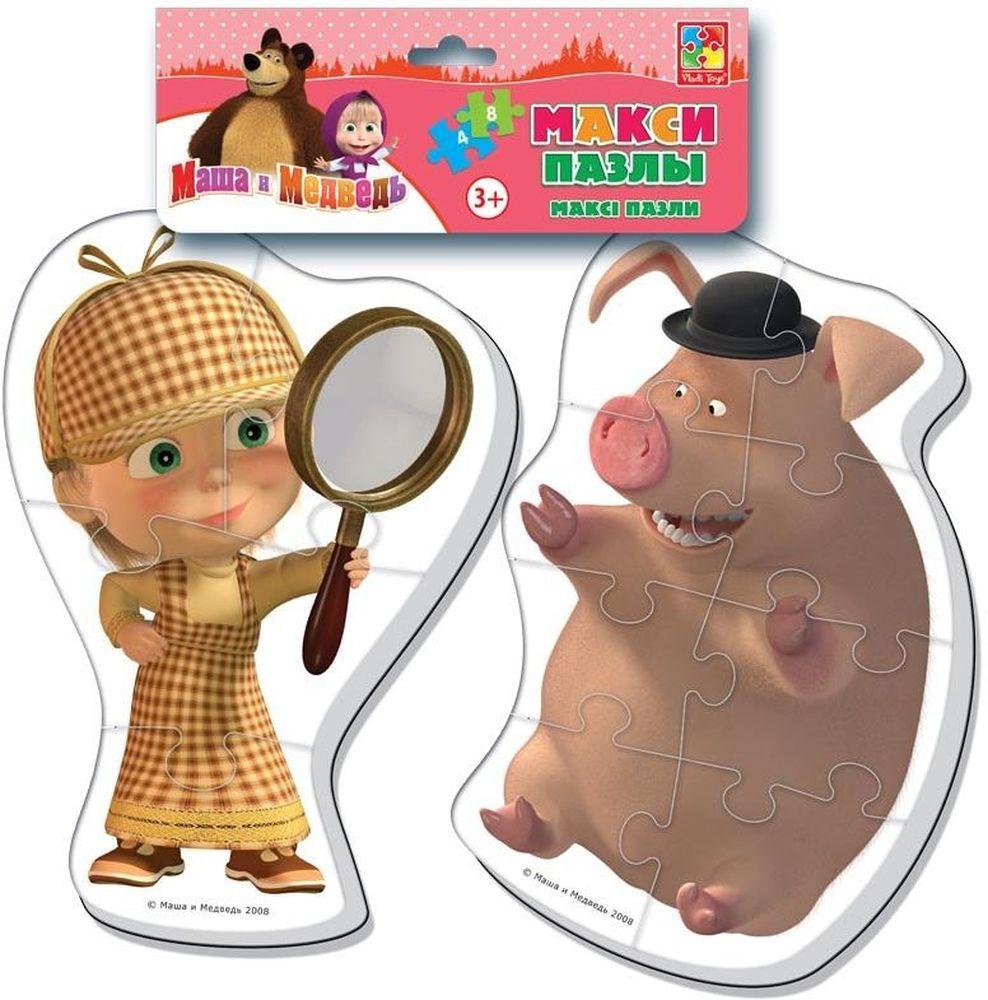 Vladi Toys Пазл для малышей Maxi Маша и медведь VT1108-04VT1108-04