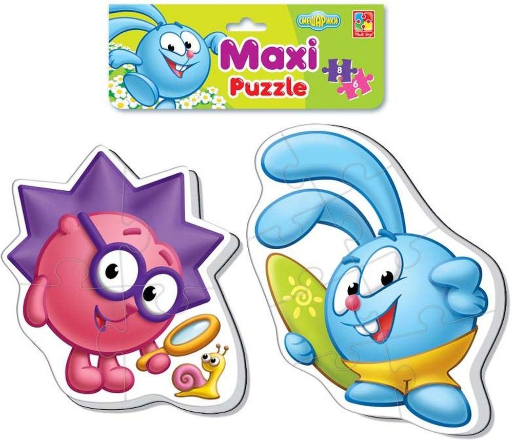Vladi Toys Пазл для малышей Maxi Смешарики VT1108-05VT1108-05