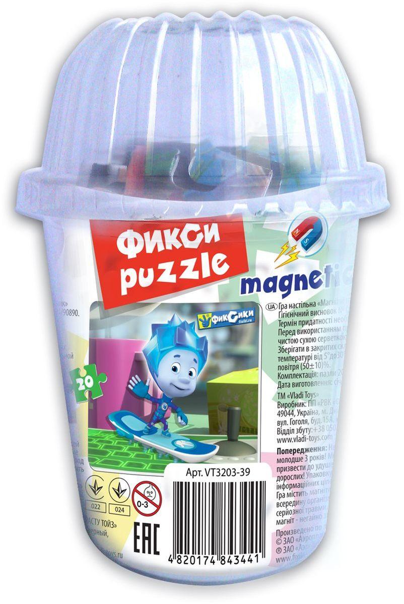 Vladi Toys Пазл для малышей Фиксики Нолик VT3203-39VT3203-39