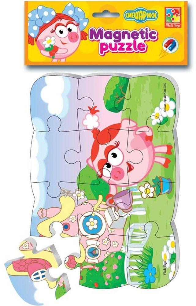 Vladi Toys Пазл для малышей магнитный НюшаVT3205-41