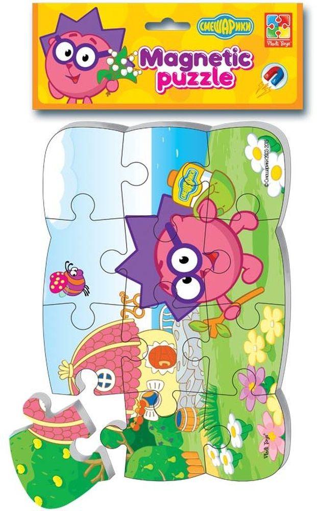 Vladi Toys Пазл для малышей магнитный Ежик VT3205-43VT3205-43