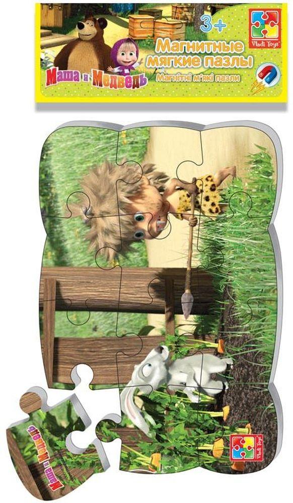 Vladi Toys Пазл для малышей магнитный Первобытная МашаVT3205-50