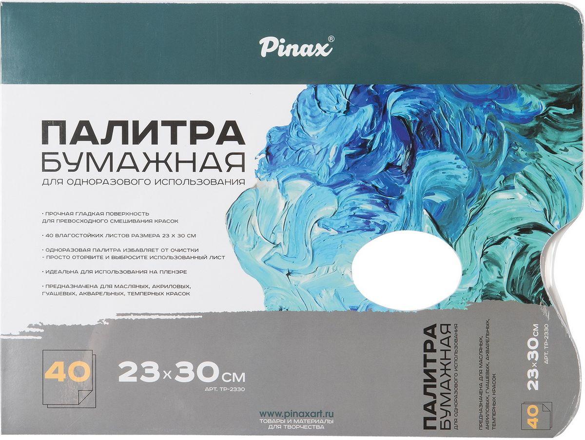 Pinax Палитра бумажная прямоугольная 23 х 30,5 см 40 листов