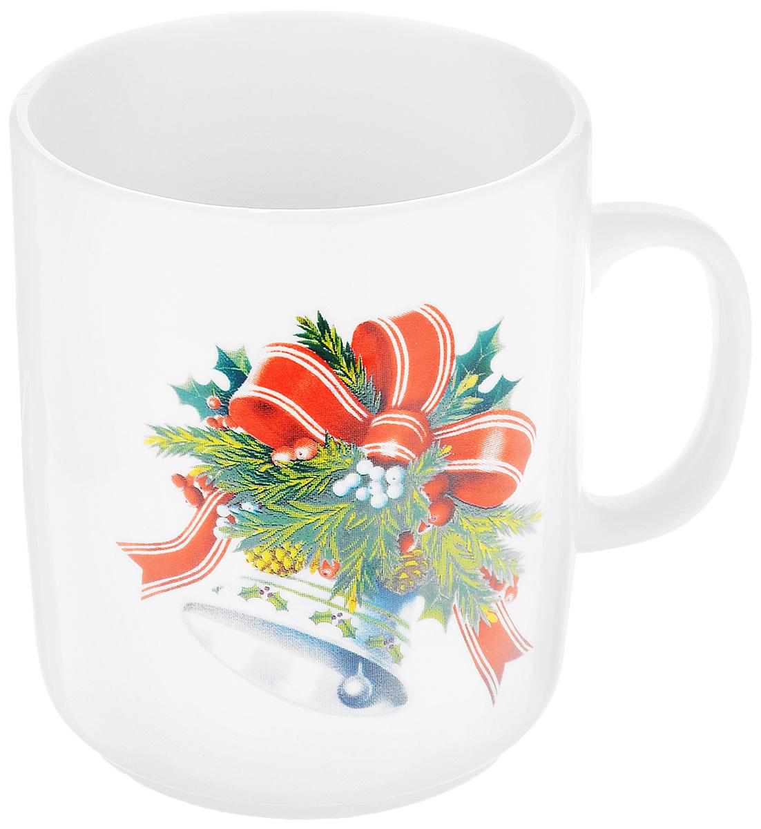 Кружка Фарфор Вербилок Колокольчик, 300 мл9272130Кружка Фарфор Вербилок Колокольчик способна скрасить любое чаепитие. Изделие выполнено из высококачественного фарфора. Посуда из такого материала позволяет сохранить истинный вкус напитка, а также помогает ему дольше оставаться теплым. Диаметр по верхнему краю: 8 см. Высота кружки: 9,5 см.