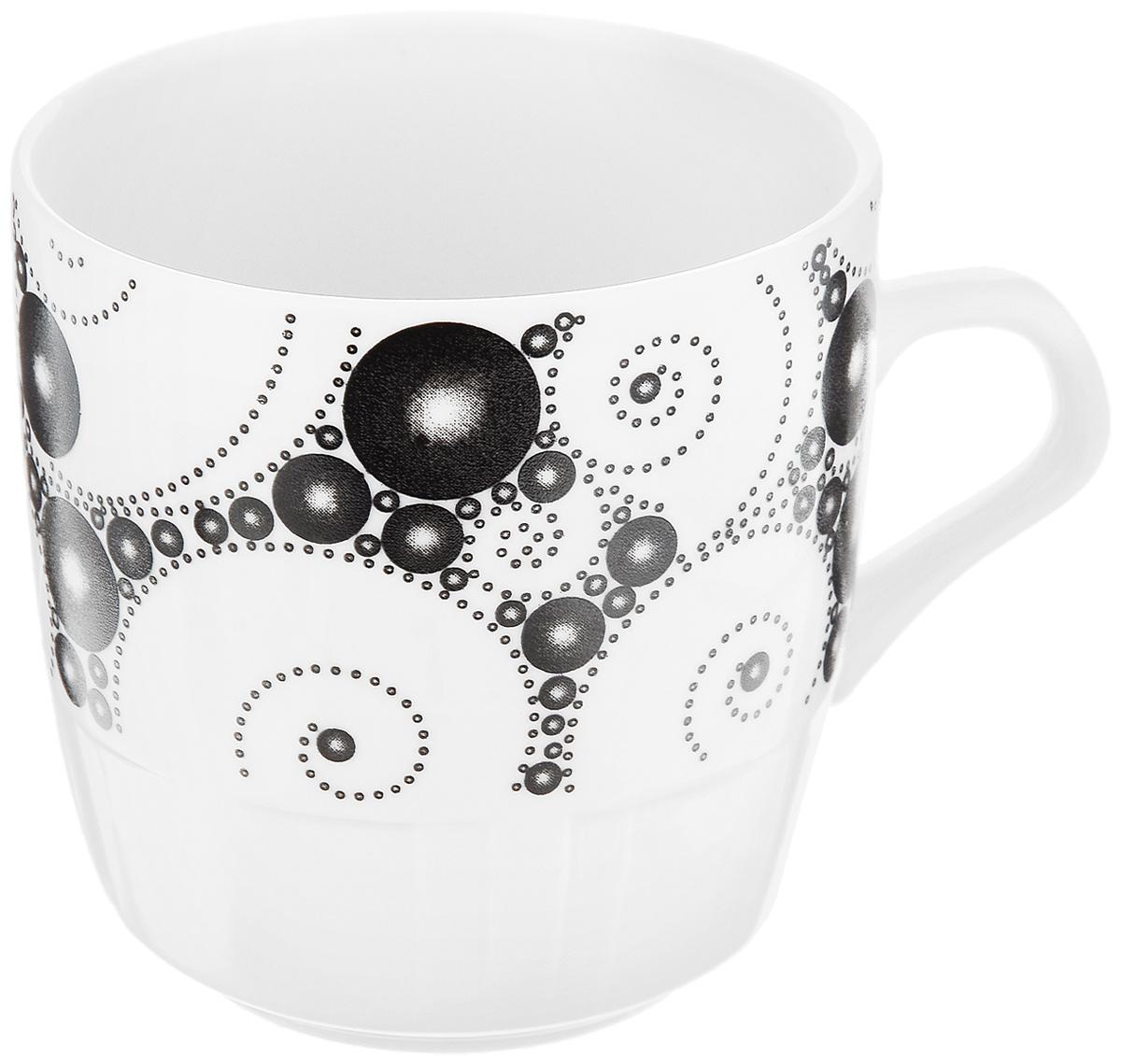 Кружка Фарфор Вербилок Жемчужный, 250 мл1371640Кружка Фарфор Вербилок Жемчужный способна скрасить любое чаепитие. Изделие выполнено из высококачественного фарфора. Посуда из такого материала позволяет сохранить истинный вкус напитка, а также помогает ему дольше оставаться теплым. Диаметр по верхнему краю: 8 см. Высота кружки: 8,5 см.