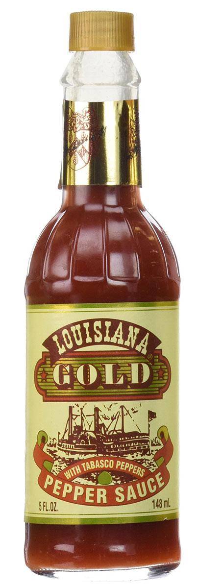 Louisiana Gold - острый красный перечный соус, лучшая приправа к блюдам из мяса, птицы, морепродуктов. Может использоваться как ингредиент для приготовления, маринад.