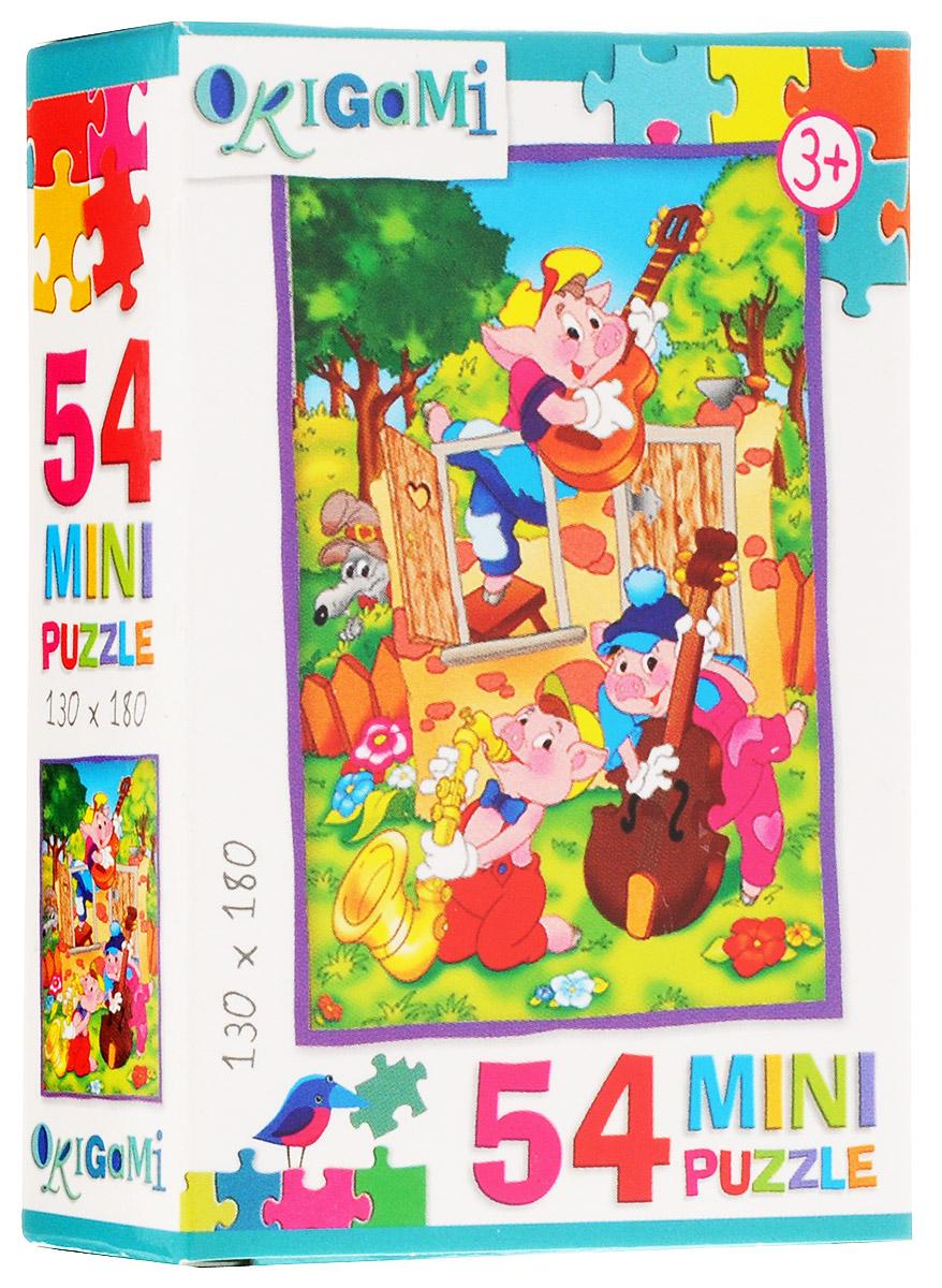 Оригами Пазл для малышей Три поросенка