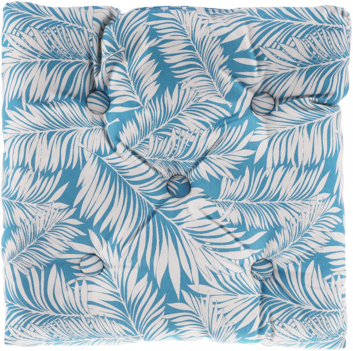Подушка на стул KauffOrt Лазурный берег, цвет: голубой, белый, 40 x 40 см3121262140Подушка на стул KauffOrt Лазурный берег не только красиво дополнит интерьер кухни, но и обеспечит комфорт при сидении. Чехол выполнен из хлопка и полиэстера, а наполнитель из холлофайбера. Подушка легко крепится на стул с помощью завязок. Правильно сидеть - значит сохранить здоровье на долгие годы. Жесткие сидения подвергают наше здоровье опасности. Подушка с мягким наполнителем поможет предотвратить большинство нежелательных последствий сидячего образа жизни. Толщина подушки: 10 см.