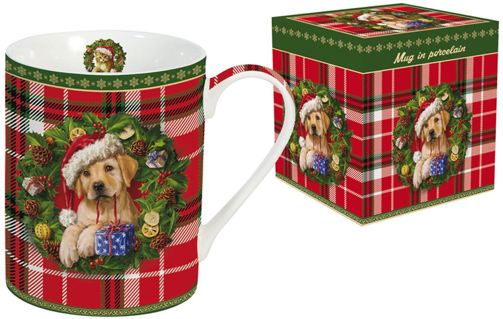 Кружка Nuova R2S Рождественский щенок, 300 млR2S-R0214/XMSP-ALКружка Nuova R2S Рождественский щенок, изготовленная из высококачественного фарфора, оформлена ярким рисунком. Красочность оформления придется по вкусу и ценителям классики, и тем, кто предпочитает утонченность и изысканность. Такая кружка - отличный вариант новогоднего подарка для ваших близких и друзей.