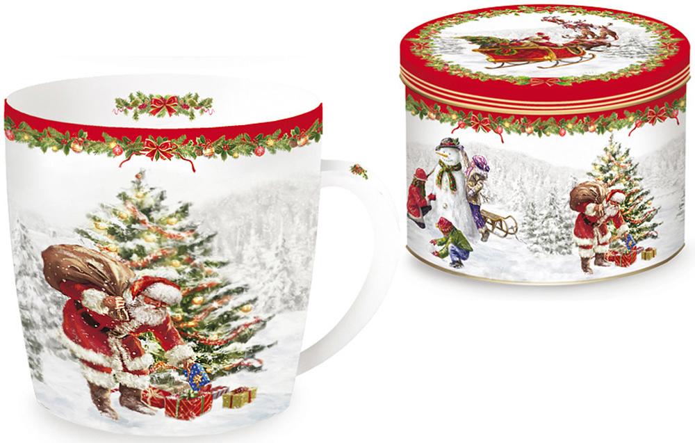 Кружка Nuova R2S Рождественская елка, 350 млR2S-R0217/CHTR-ALКружка Nuova R2S Рождественская елка, изготовленная из высококачественного фарфора, оформлена ярким рисунком. Красочность оформления придется по вкусу и ценителям классики, и тем, кто предпочитает утонченность и изысканность. Такая кружка - отличный вариант новогоднего подарка для ваших близких и друзей.