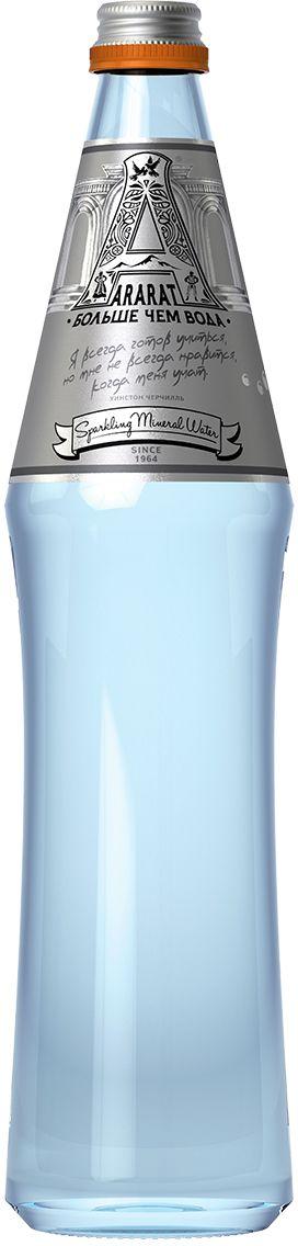 Ararat вода газированная минеральная лечебно-столовая, 0,6 л 4850006310025