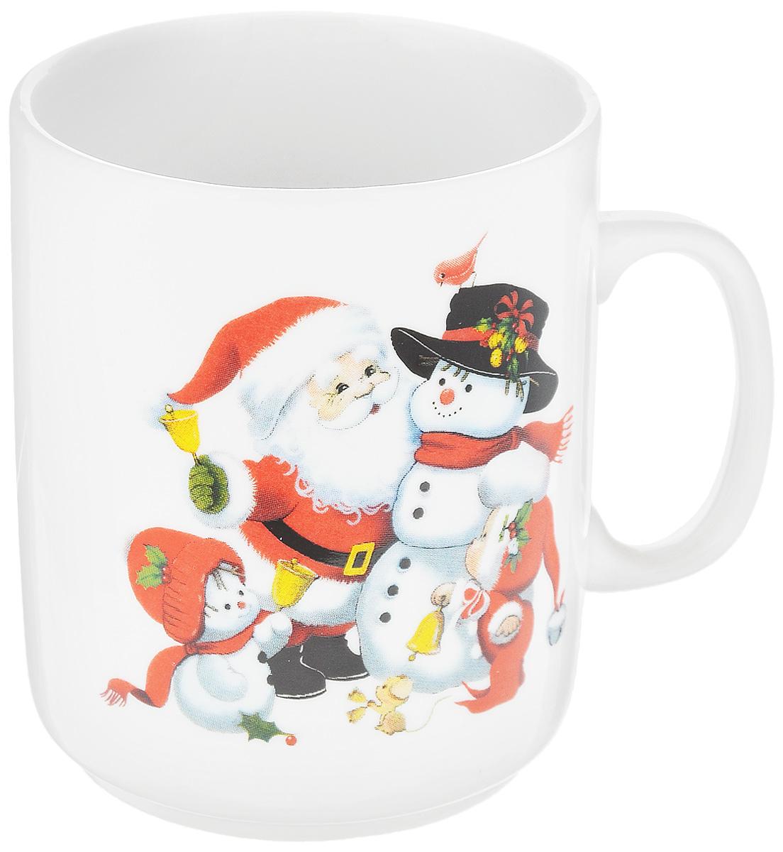 Кружка Фарфор Вербилок Дед Мороз, 300 мл9272120Кружка Фарфор Вербилок Дед Мороз способна скрасить любое чаепитие. Изделие выполнено из высококачественного фарфора. Посуда из такого материала позволяет сохранить истинный вкус напитка, а также помогает ему дольше оставаться теплым. Диаметр по верхнему краю: 7,5 см. Высота кружки: 10 см.