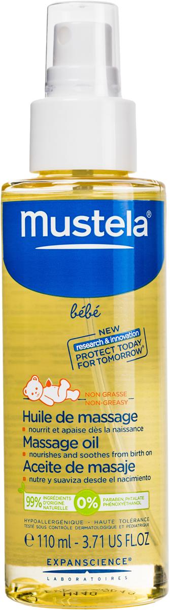 Mustela Масло массажное для новорожденных, младенцев и детей, 110 мл218801/002305Нежное смягчающее масло детское для массажа Mustela создано специально для детской кожи, подходит для ухода за кожей новорожденного. Разработано для минимизации риска аллергических реакций. Питательное и смягчающее масло для массажа помогает развивать чувственное восприятие ребенка. Защищает кожу благодаря комбинации растительных масел. 0% минеральных масел, эфирных масел, силикона 99% ингредиентов природного происхождения