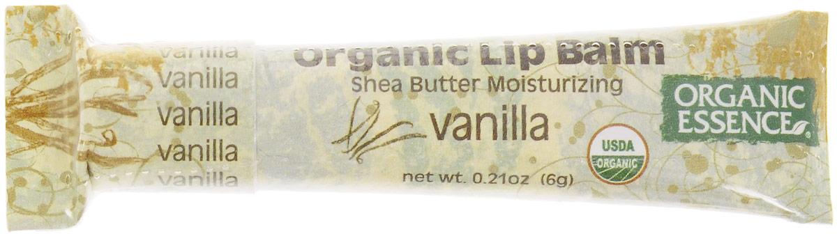Organic Essence Органический бальзам для губ, Ваниль 6 гBXVANUSDA Organic сертифицированный продукт. Насыщен органическим маслом Ши (масло плодов дерева Каритэ). Не содержат воду или любые наполнители. Питает сухие, потрескавшиеся губы, делает их мягкими. Отличная база перед нанесением губной помады.