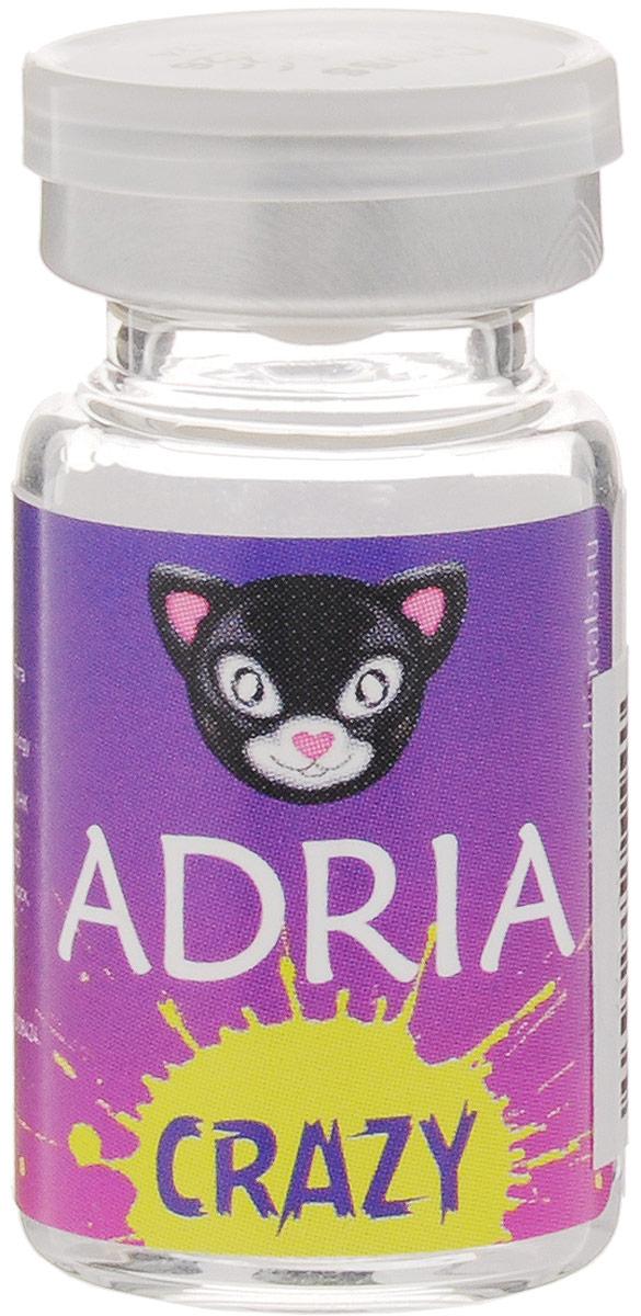 Adria Контактные линзы Crazy / 1 шт / 8.6 / 14.0 / 0.0 / Msn