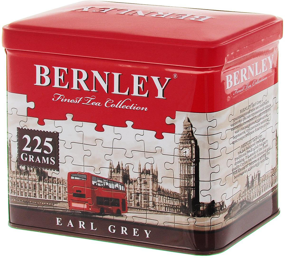 Bernley Earl Grey черный листовой ароматизированный чай, 225 г (ж/б)1070121Bernley Earl Grey - это превосходно сбалансированный купаж с изысканным вкусом и тончайшим ароматом бергамота, тропического фрукта, который усиливает освежающее действие великолепного черного цейлонского чая, подчеркивая его неповторимые природные достоинства. Этот бодрящий напиток с легкими цитрусовыми нотками в послевкусии прекрасно подходит для чаепития в любое время.
