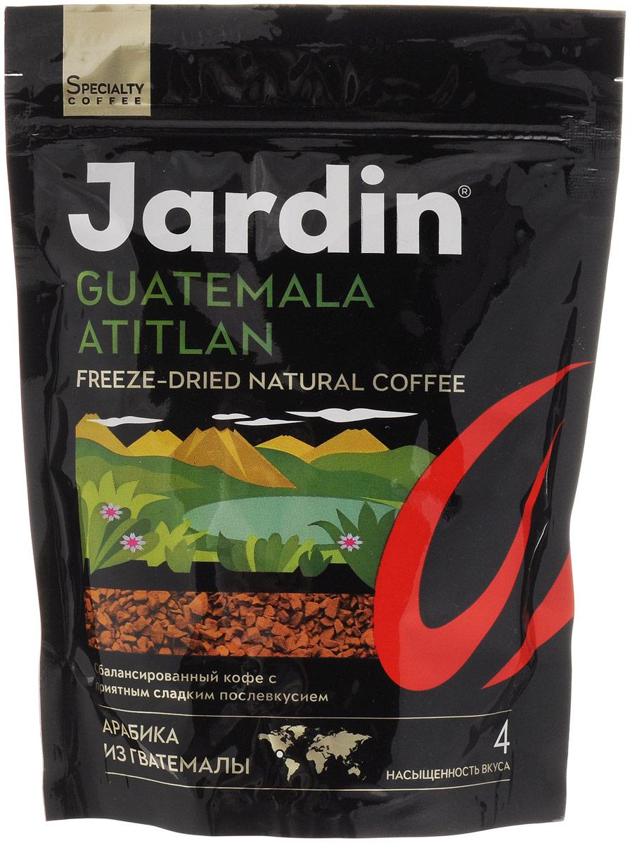 Jardin Guatemala Atitlan кофе растворимый, 75 г (м/у)1015-24Растворимый кофе Jardin Guatemala Atitlan - сбалансированный кофе с приятным фруктовым послевкусием, выращенный в Гватемале.