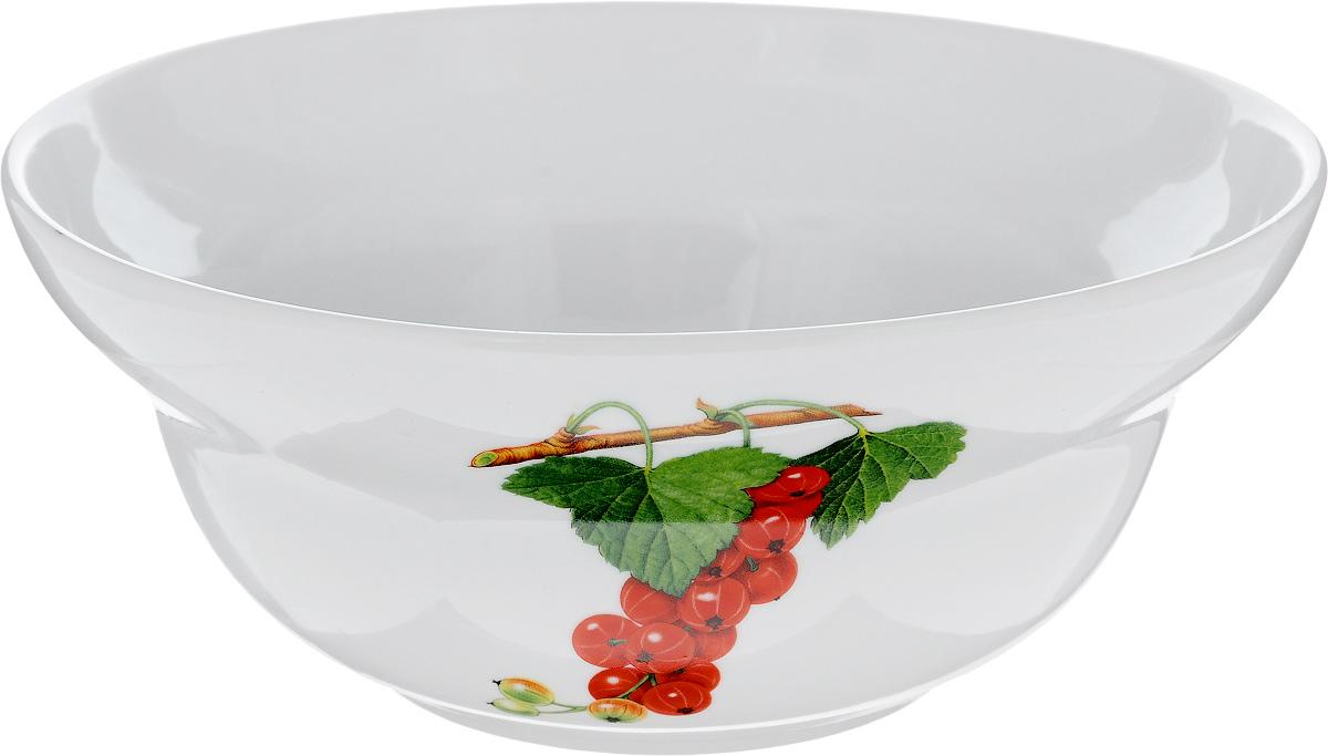 Салатник Фарфор Вербилок Смородина, 1,1 л10950830Салатник Фарфор Вербилок Смородина изготовлен из высококачественного фарфора. Внешняя стенка оформлена красочным изображением. Такой салатник будет смотреться не только стильно, но и элегантно. Он дополнит коллекцию кухонной посуды и будет служить долгие годы. Диаметр салатника (по верхнему краю): 18,5 см. Высота салатника: 7,5 см.