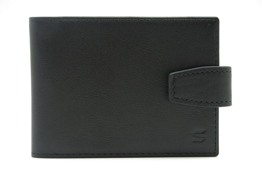 Визитница Soltan, цвет: черный. 560 01 01560 01 01Футляр для визиток SOLTAN из натуральной кожи черного цвета имеет 10 прозрачных файлов для карточек